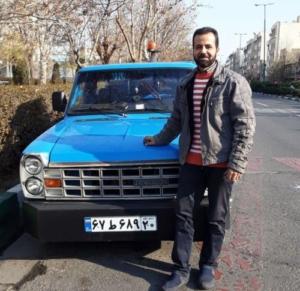 یدک کش در خیابان سردار سلیمانی شرق
